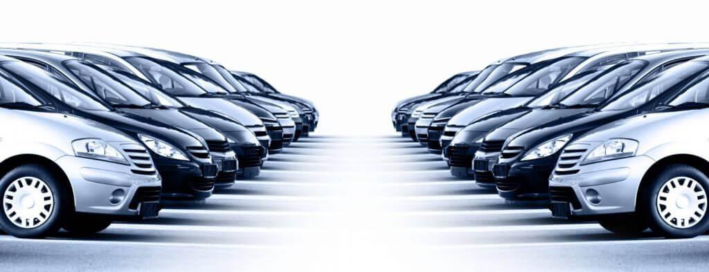 flotte de voitures